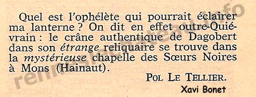 Intermédiaire des chercheurs et curieux nº298 L'énigme de Dagobert II