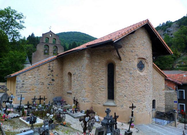 Iglesia de Niort-de-Sault