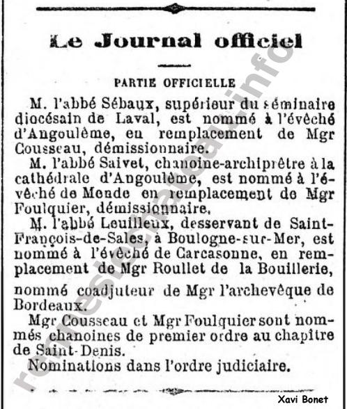 Le Gaulois 22-12-1872 - Leuilleux
