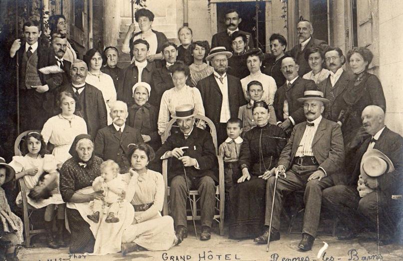 Huéspedes del Grand Hotel